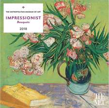 Impressionist Bouquets 2018 Wall Calendar