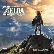 Legend of Zelda: Breath of the Wild 2019 Wall Calendar