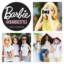 Barbie @barbiestyle 2020 Wall Calendar