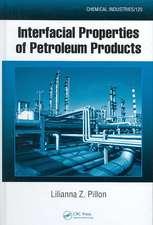 Interfacial Properties of Petroleum Products
