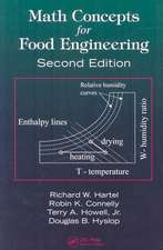 Math Concepts for Food Engineering