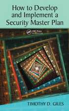 How to Develop and Implement a Security Master Plan