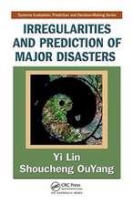 Irregularities and Prediction of Major Disasters