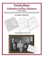 Family Maps of Columbia County, Arkansas
