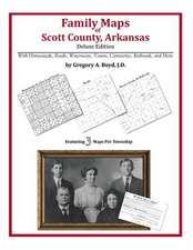Family Maps of Scott County, Arkansas
