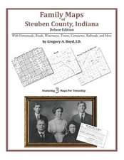 Family Maps of Steuben County, Indiana