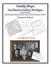 Family Maps of Van Buren County, Michigan