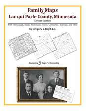Family Maps of Lac Qui Parle County, Minnesota