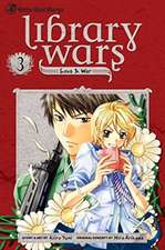 LIBRARY WARS LOVE & WAR GN VOL 03