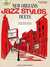 New Orleans Jazz Styles Duets: Early Intermediate: 1 Piano, 4 Hands [With CD/DVD]