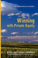 Winning with Private Equity