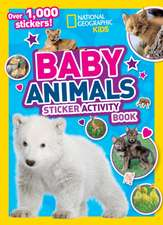 Baby Animals Sticker Activity Book