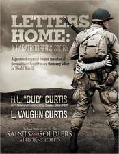 Letters Home - Saints and Soldiers