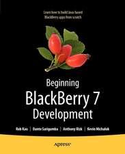 Beginning BlackBerry 7 Development