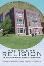 The Role of Religion in 21st-Century Public Schools:  The Science of Thinking and Knowing. Edited by Cyril Levitt