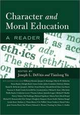 Character and Moral Education