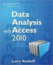 Data Analysis with Microsoft Access 2010