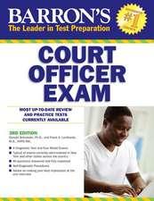 Barron's Court Officer Exam