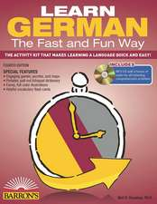 Learn German the Fast and Fun Way [With German-English and MP3]:  Seafaring Skills and Pirate Tales
