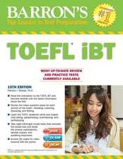 Barron's TOEFL iBT with CD-ROM and MP3 audio CDs