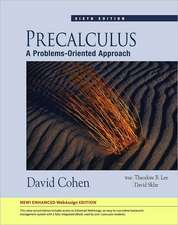 Precalculus:  A Problems-Oriented Approach [With Access Code]