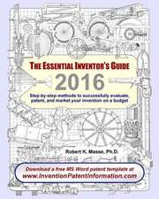 The Essential Inventor's Guide