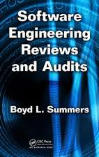 Software Engineering Reviews and Audits