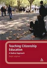 Teaching Citizenship Education: A Radical Approach