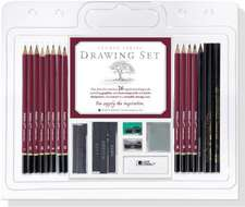 Set de desen creioane profesionale Studio Series Drawing