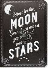Shoot for the Moon Journal (Diary, Notebook)