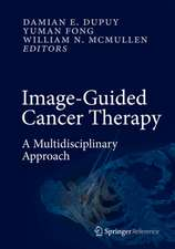 Image-Guided Cancer Therapy: A Multidisciplinary Approach