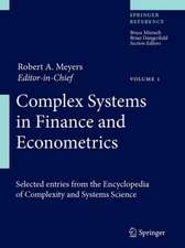 Complex Systems in Finance and Econometrics