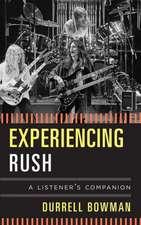 Experiencing Rush