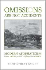 Omissions Are Not Accidents
