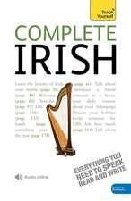 Complete Irish Beginner to Intermediate Book and Audio Course
