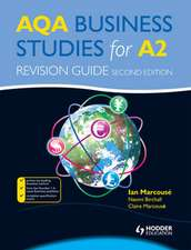 Aqa Business Studies for A2. Revision Guide
