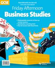 Friday Afternoon Business Studies GCSE