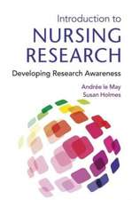 May, A: Introduction To Nursing Research