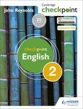 CAMBRIDGE CHECKPOINT ENGLISH 2