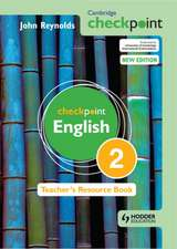 Cambridge Checkpoint English Teacher's Resource