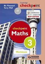 Cambridge Checkpoint Maths Workbook 3