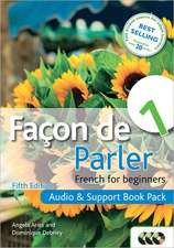 Facon de Parler 1:  French for Beginners [With Paperback Book]