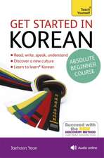 Get Started in Korean with Audio CD: A Teach Yourself Program