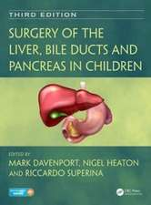Surgery of the Liver, Bile Ducts and Pancreas in Children, Third Edition