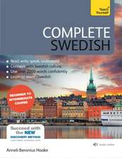 Complete Swedish Beginner to Intermediate Course : Book and audio support