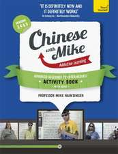 Learn Chinese with Mike Advanced Beginner to Intermediate Activity Book Seasons 3, 4 & 5:  Book + CD-ROM