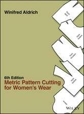 Metric Pattern Cutting for Women′s Wear