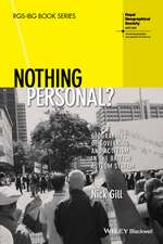Nothing Personal?: Geographies of Governing and Activism in the British Asylum System
