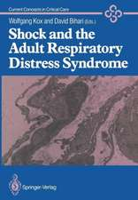 Shock and the Adult Respiratory Distress Syndrome