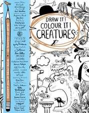 Draw it! Colour it! Creatures